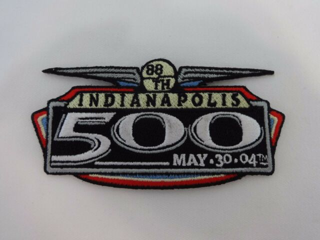 2004 Indianapolis 500 Event Logo Collector Patch Indy 500 Indycar