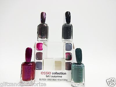 Essie Nail Polish Fall For The Twill Of It Mini Collection Set 4ct/pk