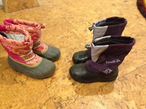 Girls boots kids youth 12
