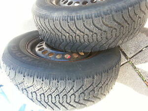 For sale 2 Goodyear Nordic winter tires