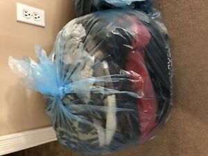 Assorted bag of clothes