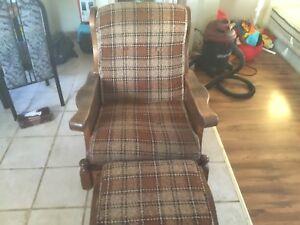 Chaise bersante entique