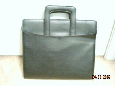 Retro Day Runner Leather Entrepreneur Briefcasepersonal Organizerpreownednib
