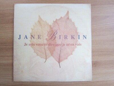 Jane Birkin – Je Suis Venu Te Dire Que Je M