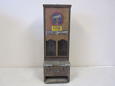 Vintage / Antique Hershey's One Cent / Penny Coin Op Candy Machine