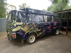 Nissan e20 gold addition camper Gawler Gawler Area Preview
