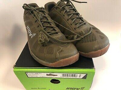 Inov-8 Men F-Lite 235 V3 Cross Training Shoes 000867 khaki/Gum Size 11.5