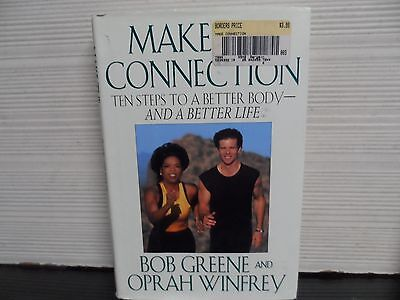 Make The Connection   Signed   Bob Greene   Oprah Winfrey   1St Edition  Hc