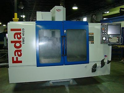 Fadal Vmc 4020 Vertical Machining Center