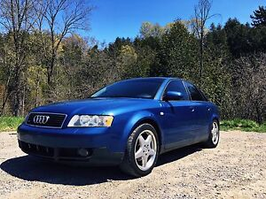 Audi A4 1.8T Quattro Etested & Safetied