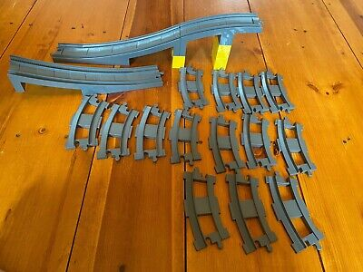 Lego Duplo Train Tracks Ramp Bridge Curved Pieces