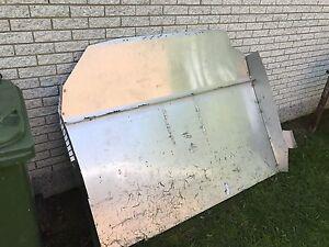 Paneau séparation aluminium econoline