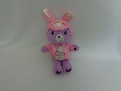 """Share Bear Care Bear Bunny Outfit TCFC  Easter Purple Pink 2007 12"""" ()"""