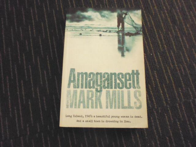 Amagansett by Mark Mills (Paperback, 2004) - GREAT READ - THRILLER/ MYSTERY
