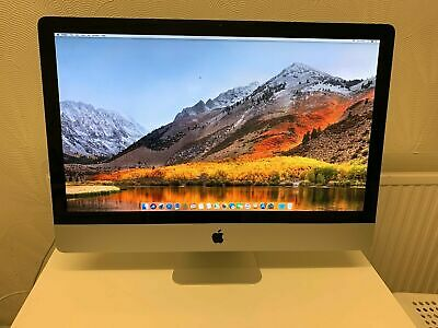 "Apple iMac 27"" Quad Core i7 3.4Ghz, 8GB RAM, 256GB SSD, ATI Radeon HD 6970M"