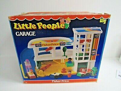 1980's Fisher Price Little People Garage #2504 NIB