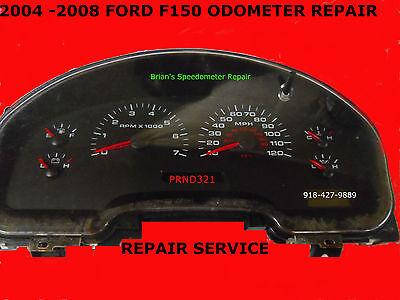 2004-2008 FORD F150 XL CLUSTER REPAIR