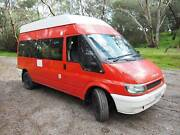 2006 Ford Transit diesel motorhome with 2017 build. Woodcroft Morphett Vale Area Preview