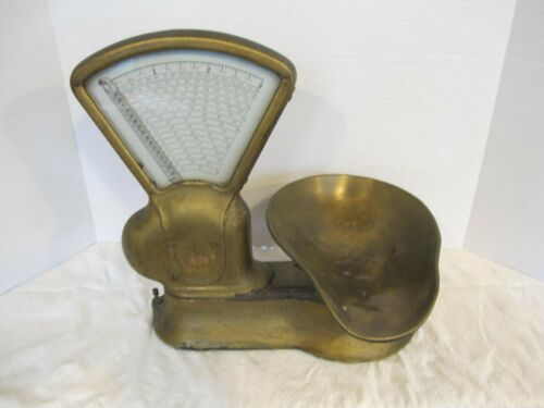 Antique TOLEDO Scale Co. Country General Store Candy Scale Early 1900