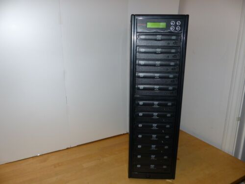 1 to 11 Target 24X SATA DVD CD Duplicator Tower Burner Multiple Disc Copier