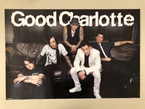 GOOD CHARLOTTE, MUSIC BAND, AUTHENTIC 2005 POSTER
