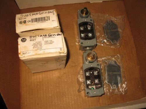 Allen - Bradley oil tight limit switch 802T-AM , 2 pcs.