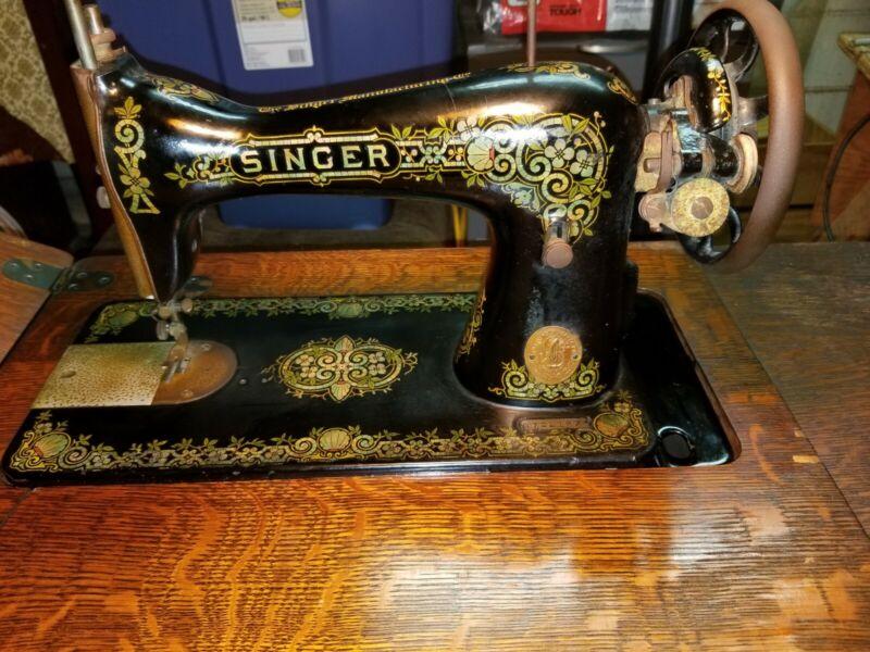 Antique Singer 1919, Treadle Sewing Machine, G7221874
