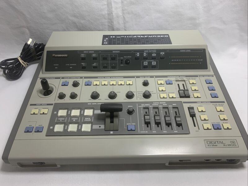 Vintage PANASONIC WJ-MX12 DIGITAL AV MIXER