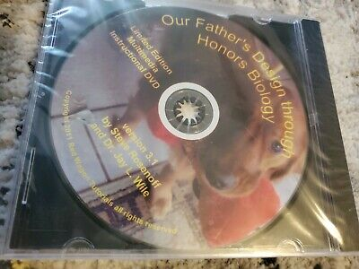 Apologia Red Wagon Tutorials Honors Biology Instructional DVD  Rosenoff Wile