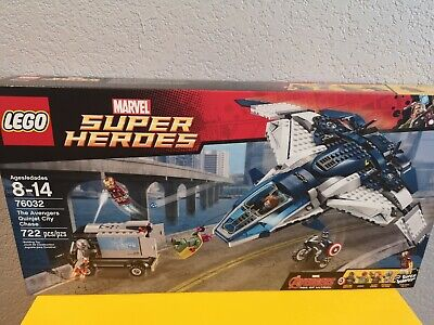 LEGO Marvel Super Heroes 76032 The Avengers Quinjet City Chase BRAND NEW, SEALED