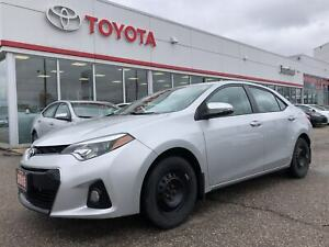 2015 Toyota Corolla S, Sunroof, One Owner Trade In, Bluetooth