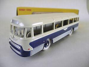 ATLAS FRENCH DINKY. 29F AUTOCAR CHAUSSON BUS COACH IN BLUE/CREAM. MIB