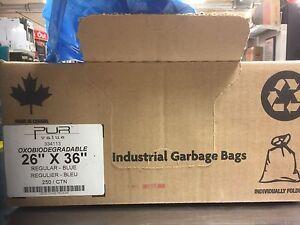 Blue Recycling Bags 22X36 - 250 Carton