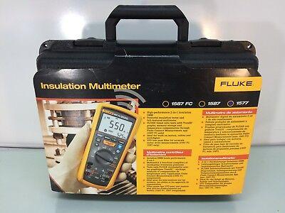 New Fluke 1577 Insulation Multimeter Auto Range 500v1000v Cat Iii 1000v
