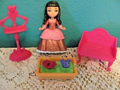 Sofa The First (Mattel 2013 Sophia Sofia The First 3 In. Doll With Black Hair, Couch, &)
