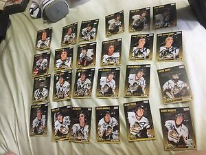 24 signed cards Kingston Frontenacs