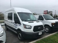 2016 ford transit 350 high top with full time job