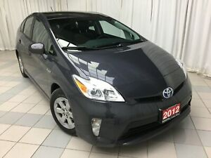 2012 Toyota Prius Moonroof Upgrade Package Navigation
