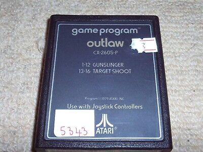 OUTLAW   - Rare ATARI 2600 Game