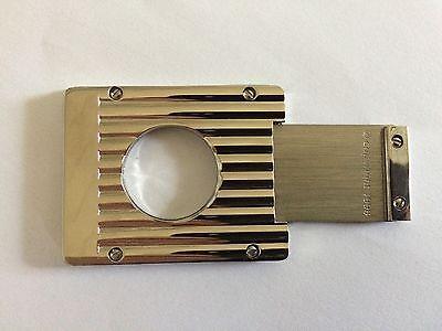 Zigarrenabschneider Zigarrenschneider Silber Metall 5,2 x 4 cm