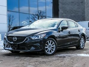 2017 Mazda Mazda6 GS|LEATHER|PADDLE SHIFTER|BACKUP CAM