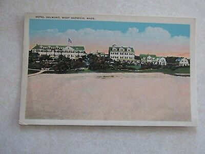 For sale c615 Vintage postcard Hotel Belmont West Harwich Massachusetts MA
