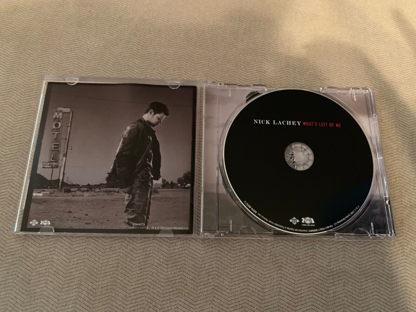 What s Left Of Me By Nick Lachey CD, 2006, Jive  - $1.50