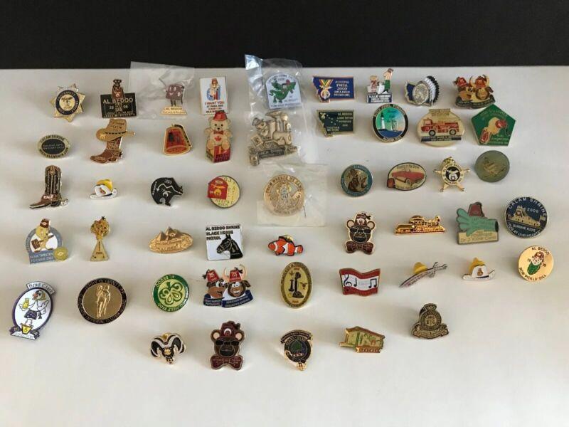 Lot of 50 Masonic Shriners Enamel Lapel Pin Pinbacks #2