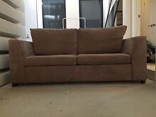 Three seater/double sofa bed Brunswick Moreland Area Preview