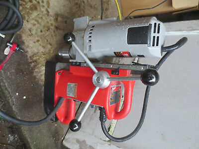 Milwaukee 4202 Electromagnetic Variable Still Press 4262-1 Drill Motor Great
