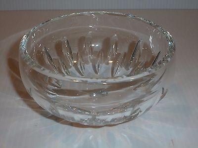 Lovely Waterford Crystal Small Bowl, Leaf-Like Design