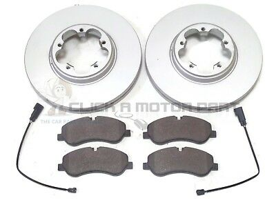 FORD TRANSIT CUSTOM 2.0 2.2 TDCi FRONT 2 BRAKE DISCS & PADS (308MM SIZE CHECK)