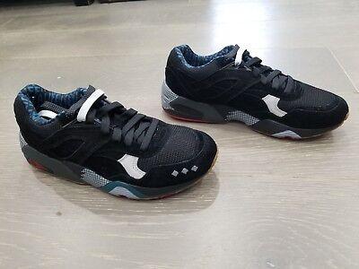 Puma R698 X Alife NY Size 7 US Supreme Black Glacier Grey Running Deadstock