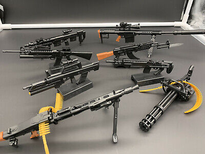 1/6 Scale Rifle Assembly Weapon Set Gun Model Toy Fit 12